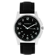 Laurels Hamilton Analog Black Dial Men's Watch - LL-Hm-0202