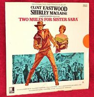 OST LP TWO MULES FOR SISTER SARA ENNIO MORRICONE1970 KAPP PARTIALLY SEALED
