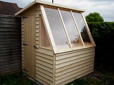 QUALITY HAND MADE 6x5 POTTING SHED
