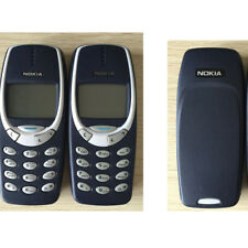 Original NOKIA 3310 Black Unlocked Classic Mobile Phone Bar Style 2G Network