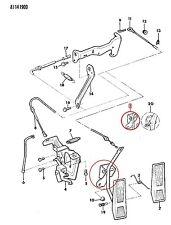 53003719 Accelerator Pedal Assembly Jeep CHEROKEE XJ COMANCHE MJ