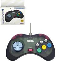 Retro-Bit Official Sega Saturn Controller - Slate Gray (transparent)