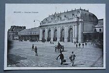 R&L Postcard: Italy Milano Stazione Centrale Railway Station Milan