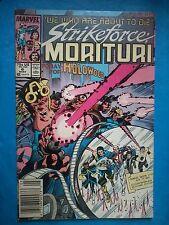 MARVEL COMICS STRIKEFORCE MORITURI N°6 - ANNEE 1987 - VO - MARVEL #6
