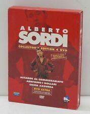 ALBERTO SORDI Collector's Edition n. 4 DVD ITA con Cofanetto. Eagle Pictures
