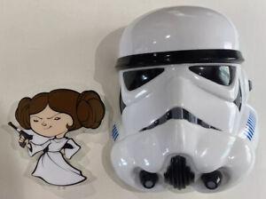 STAR WARS STORMTROOPER And Princess Leia  3D DECO NIGHT WALL LIGHTs