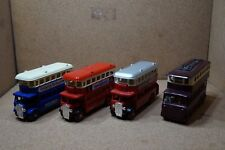Collection of 3 Lledo double Decker's and 1 Lledo Trolley bus.