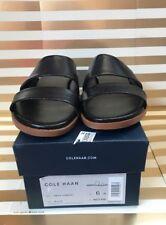 Cole Haan Anica Flat Slide Sandals. Black, 6 US
