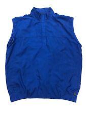Zero Restriction Tour Series Men's 1/2 Zip Golf Vest Royal Blue Sz Large