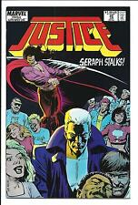JUSTICE # 20 (MARVEL COMICS, NEW UNIVERSE, JUNE 1988), VF/NM