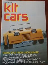 Kit Cars Aug 1982 Midas, NG TA