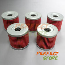 5x Oil Filter Filters F Suzuki Quadsport LTZ400 LT-Z400 2004 2005 - 07 2008 2009