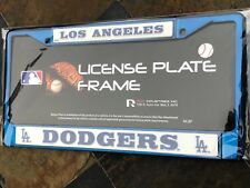 1 Los Angeles Dodgers Blue Metal License Plate Frame wNice Raised 3D Graphics