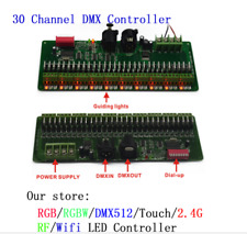 DMX 512 RGB 30channel LED Strip Controller DMX Decoder LED DMX Dimmer Driver 12V