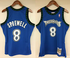 Latrell Sprewell Minnesota Timberwolves Mitchell & Ness NBA Authentic Jersey