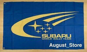 Subaru World Rally Team Racing 3x5 ft Flag Banner WRX STI Impreza
