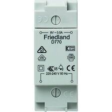 Friedland / Honeywell D770 Klingel-Trafo 8V 0,5A DIN-Hutschiene oder Aufputz NEU