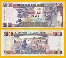 Guinea Bissau, 5000 pesos 1993 UNC.