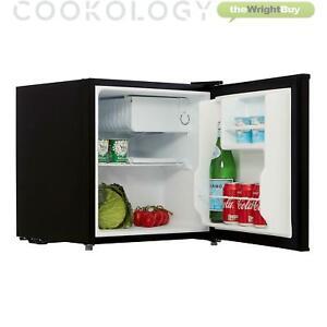 Cookology Black Table Top Mini Fridge & Ice Box Freezer, Beer & Drinks Cooler