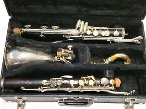 """Buffet Crampon Bass Clarinet (to low-Eb) - """"Radio Model"""" - Exceptional Player!"""