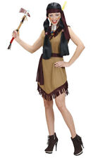 American Indian Pocahontas Cowboy Fancy Dress Costume Outfit Size Small
