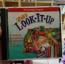 Zak's Look-it-Up PC GAME - FREE POST