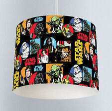 Starwars (221) Boys Bedroom Drum Lampshade Light Shade