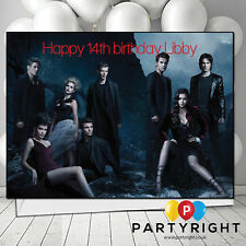 The Vampire Diaries Personalised Birthday Card