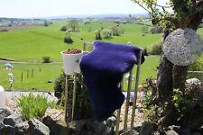 Premium Peau de Mouton / D'Agneau Violet Couleurs Mérinos Delva Tapis D'Entrée