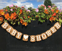 Baby Shower Party Vintage Garland Design Birthday Party Bunting Banners