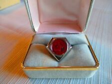 """The Shadow """"Diamond"""" Ring, Sterling Silver, Rare Limited Edition #241 of 1750"""