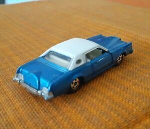Vintage Tomica Tomy 1976 Blue Ford Continental MK1V - Made in Japan