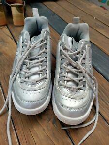 Ladies Grey Fila Runners 38/7