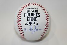 Willy Adames (Rays) Signed 2016 Futures Game Baseball (MLB Hologram) Autographed