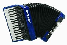HOHNER AMICA III 72 Design 2 blau Inkl. Gigbag #neu