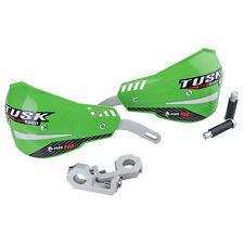 "Tusk D-Flex Pro Handguards Green 1 1/8"" Bars-Enduro,Dual Sport,Kawasaki,KLX,KXF"