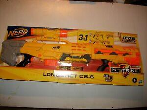 NEU!! Nerf N-Strike ELITE ICON Longshot CS-6  3-in-1 Blaster von Hasbro