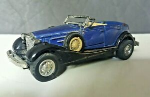 Vintage 1933 Cadillac Welly Convertible Die Cast No. 8873