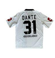 Lotto Borussia Mönchengladbach Trikot Gr. Medium M #31 Dante Postbank j40