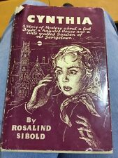 Cynthia by Rosalind Sibold-First Edition/DJ-1957