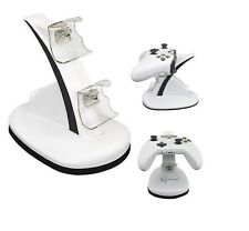 TabletHutBox® White Xbox One / Xbox One S Controller Charger Stand