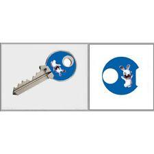 Sticker Clé lapin crétin adhésif autocollant triangle