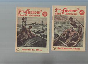 Jörn Farrow Originalhefte 1951 Nr. 1 - 166 (14 Hefte fehlen)