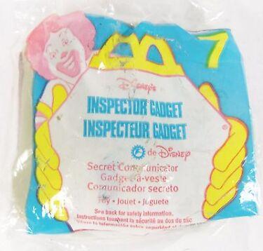 1999 McDonalds Happy Meal Inspector Gadget Secret Communicator Toy 7