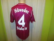 "FC Schalke 04 Adidas DFB-Pokal Sieger Trikot 2011 ""GAZPROM"" + Nr.4 Höwedes Gr.M"