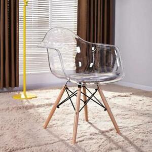 Designer chair scandinavian transparent  Chair modern armchairs