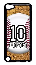 Baseball New Personalized Name&Number Hard Back Case Cover For Apple iPod 4 5 6
