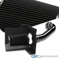 For 07-08 Silverado Sierra V8 Glossy Black Cold Air Intake+Heat Shield+Filter