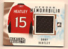 DANY HEATLEY 2016-17 LEAF ITG HEROES & PROSPECTS GAME USED JERSEY RELIC
