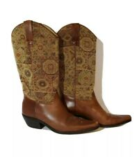 Women's Matisse Western Tapestry Top Boots Cowgirl Cowboy 7.5